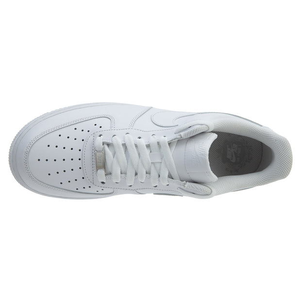 a17ee9e98a4438 Nike Air Force 1 One Low Top All Triple White Mens Style  315122