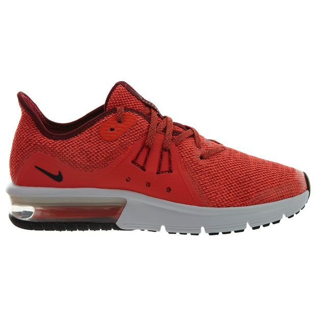 679994d498 Nike Air Max Sequent 3 Red Crimson Athletic Boys / Girls Style :922884