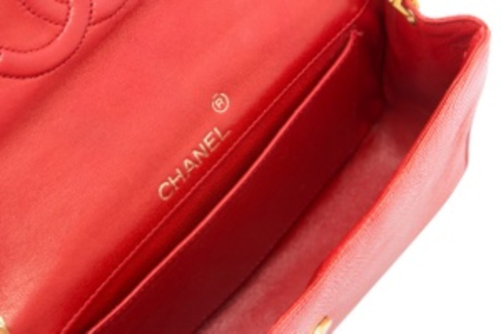 Pre-Owned Chanel Lizardskin Leather Crossbody