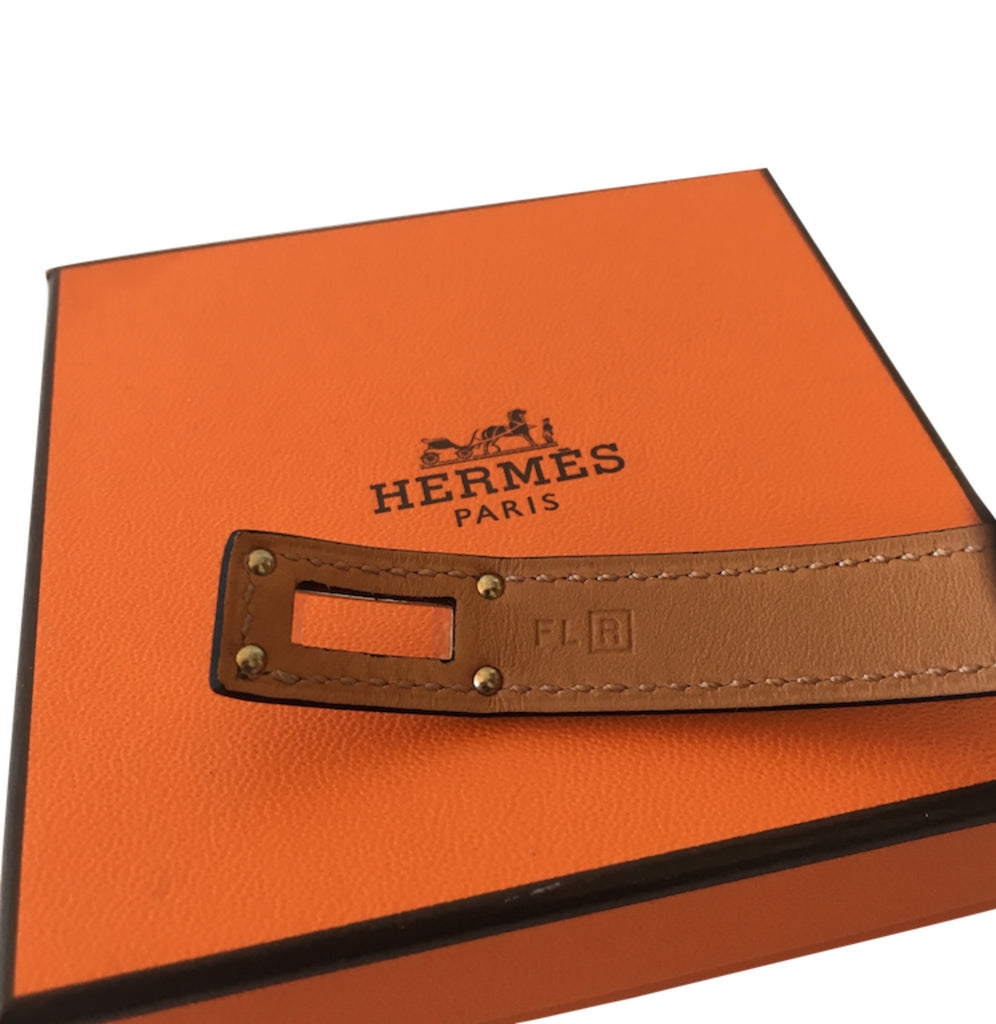 Bracelet Hermès Kelly Double Tour Box Etain