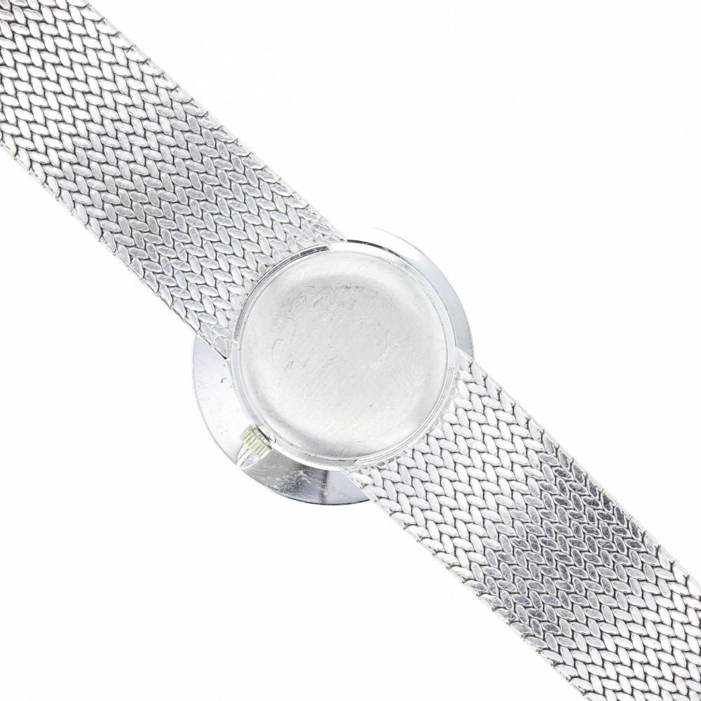 18ct White Gold Sapphire and Diamond Ebel Cocktail Watch