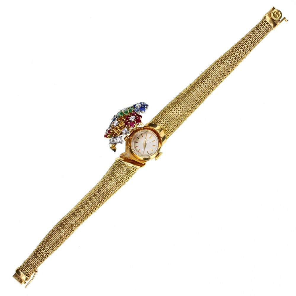 Gubelin Multigem Gold Lady\' Cocktail Watch