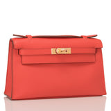 Hermes Capucine Swift Mini Kelly Pochette