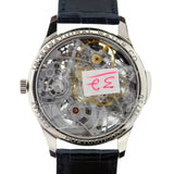 IWC 18K WHITE GOLD PORTUGUESE SQUELETTE SKELETON MINUTE REPEATER