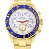 ROLEX 116688 YACHTMASTER II 18K YELLOW GOLD WATCH