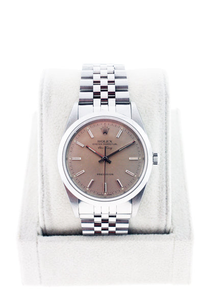 ROLEX AIR KING 14000 STAINLESS STEEL GENTS WATCH