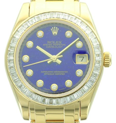 Mid-Sized Rolex Datejust Pearlmaster, ref. 81308BR