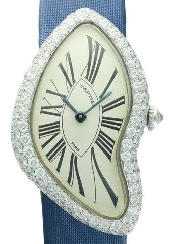 Cartier Crash with Diamond Bezel