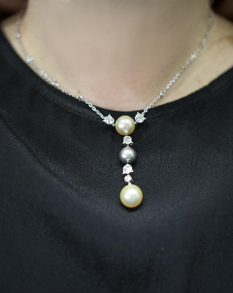 Cartier Himalia Pearl and Diamond Pendant