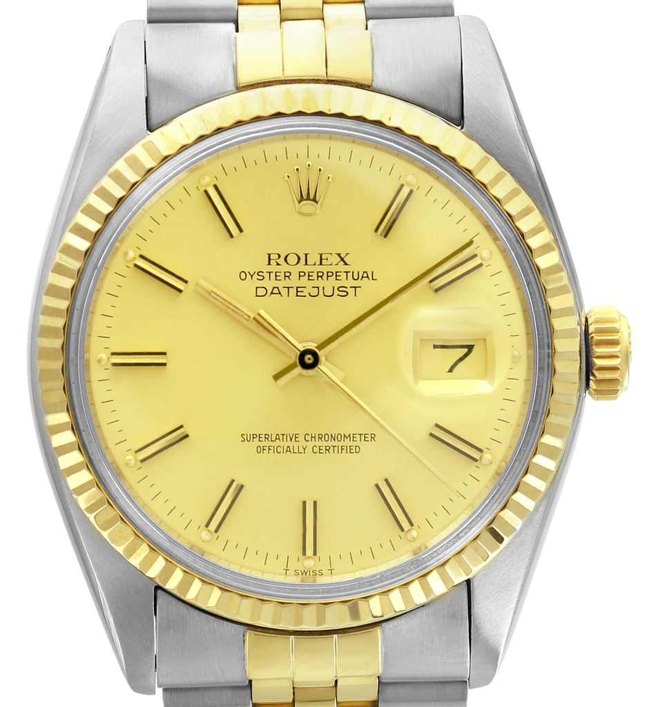 Rolex Two-Tone Datejust Circa 1980s