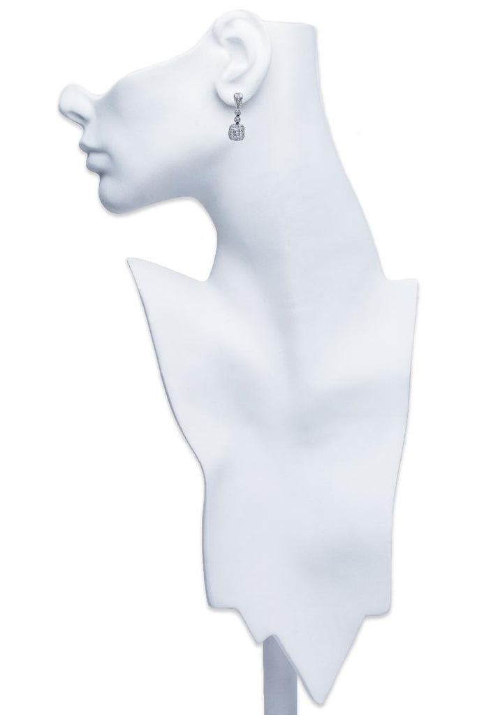 Beaudry Couture Collection Diamond Earrings Platinum