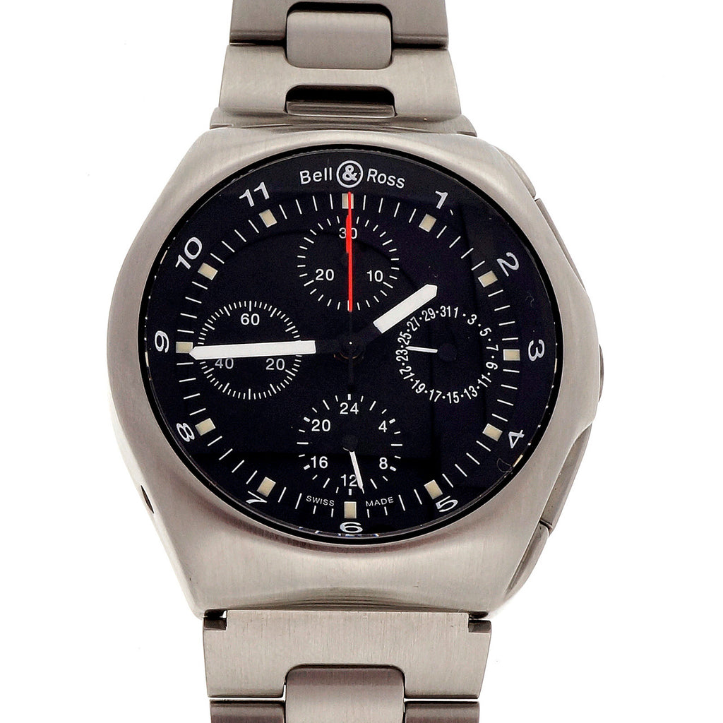 Men\'s Bell & Ross Chronograph Automatic Date Stainless Steel