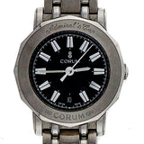 Ladies Corum Admirals Cup Wrist Watch Black Dial Quartz