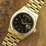 Rolex Day-Date Brown Gilt Dial Ref. 1803