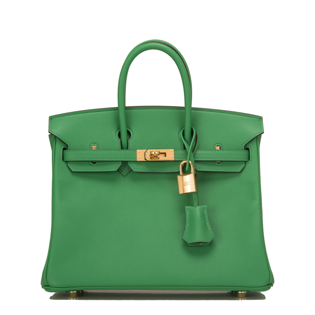 Hermes Bamboo Swift Birkin 25cm Gold Hardware