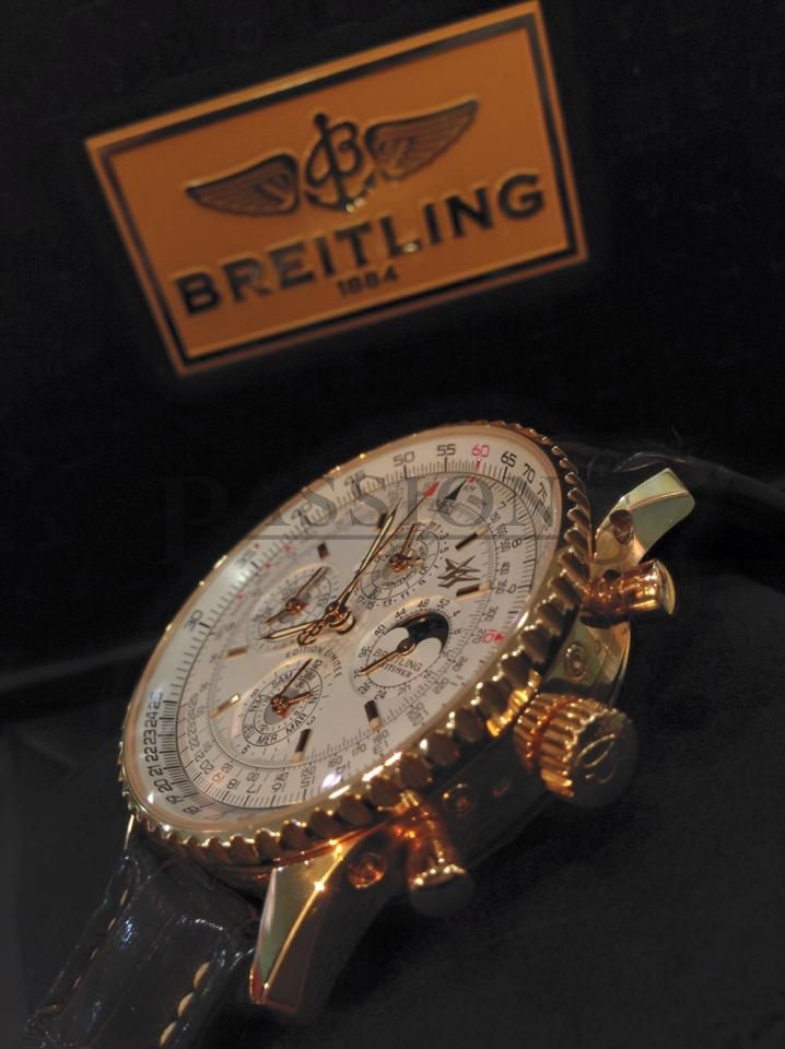 Breitling 43mm 50th Anniversary Navitimer Montbrilliant