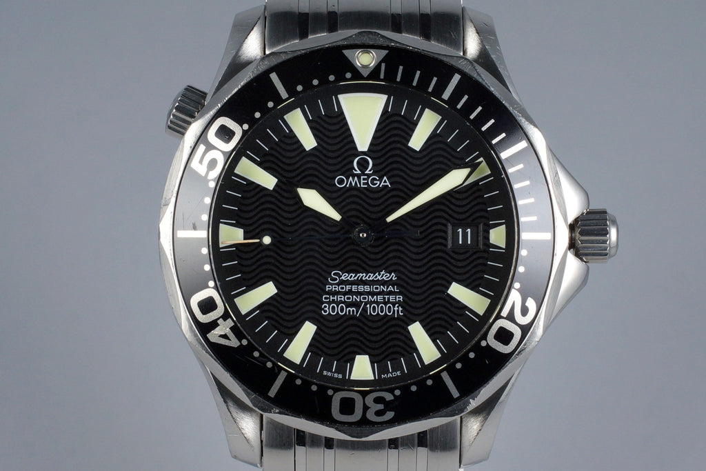 2002 OMEGA SEAMASTER 2054.50 WITH PAPERS