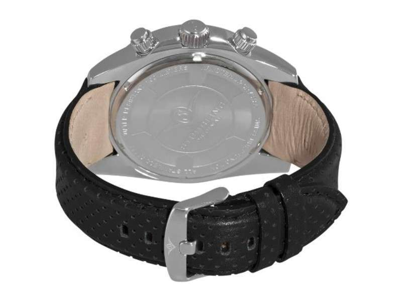 Stuhrling Pantheon 547.33151 Stainless Steel & Leather 51mm Watch