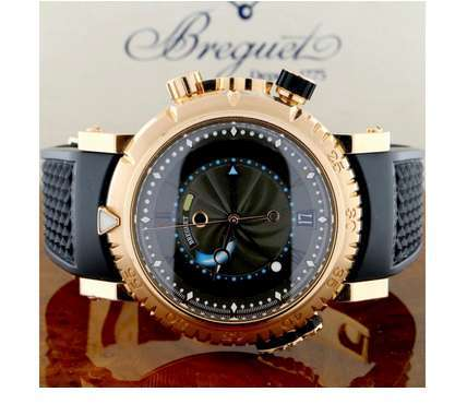 Breguet Marine Royale 5827BR/Z2/5ZV Alarm 18K Rose Gold Automatic 45mm Mens Watch