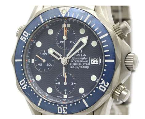 Omega Seamaster 2298.80 Professional 300M Titanium Chronograph 42mm Mens Watch