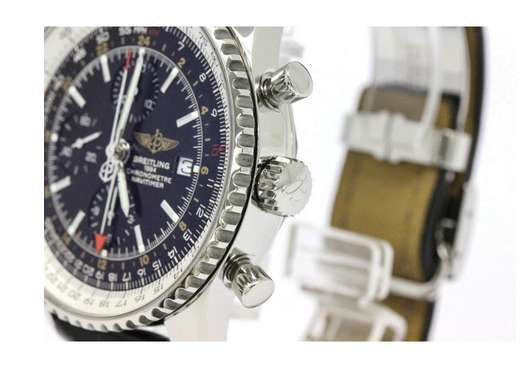 Breitling Navitimer World A24322 Stainless Steel Automatic 46mm Mens Watch