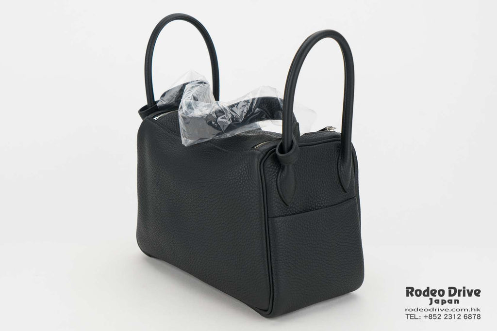 Hermes Lindy 26 Black / Toffee