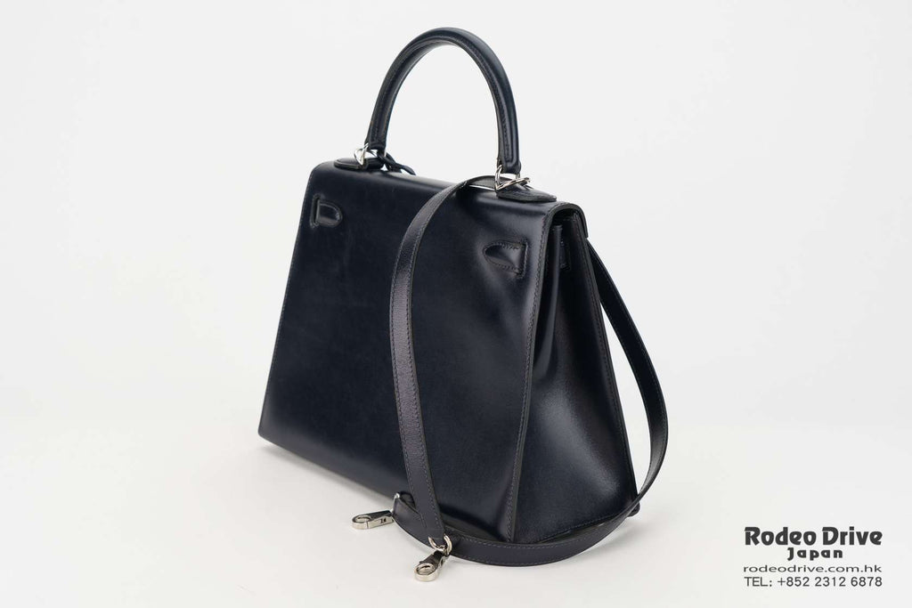 Hermes Kelly 28 Navy