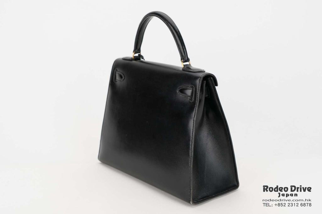 Hermes Kelly 28 Black