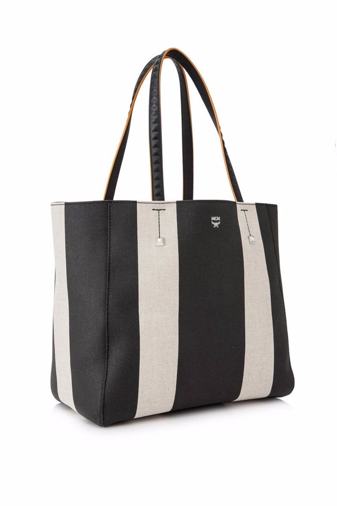 MCM Medium Ilse Canvas East-West Shopper