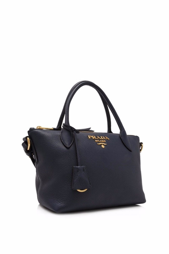 Prada Vitello Daino Shopping Bag 22cm