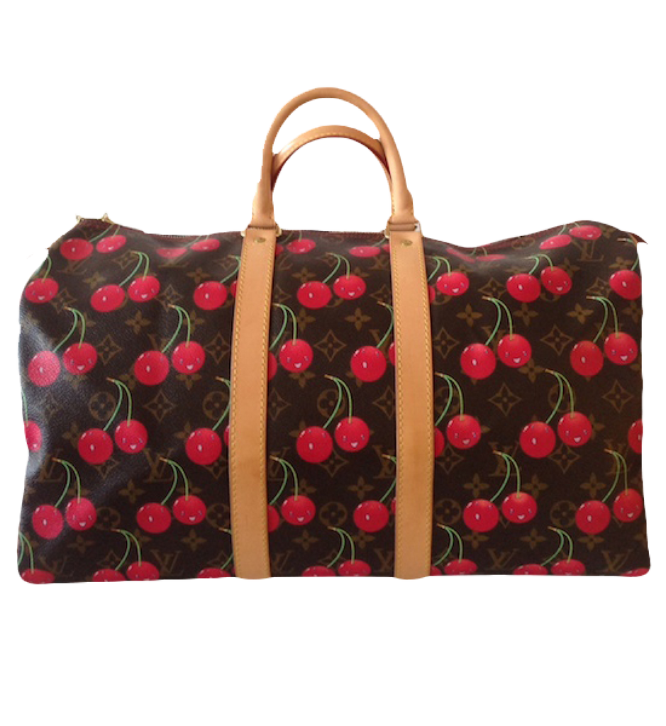Louis Vuitton Louis Vuitton Keepall Collection Cherries Bag by Takashi Murakami