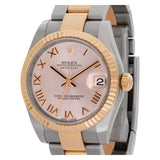 Rolex Datejust 178271 18k Rose gold & stainless steel Pink dial 30mm Automatic