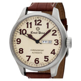 Ernst Benz Chronosport GC10218A Stainless Steel Cream dial 47mm Automatic watch