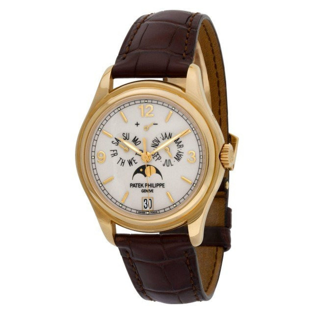 Patek Philippe Annual Calendar 5146j 18k Ivory dial 39mm Automatic watch