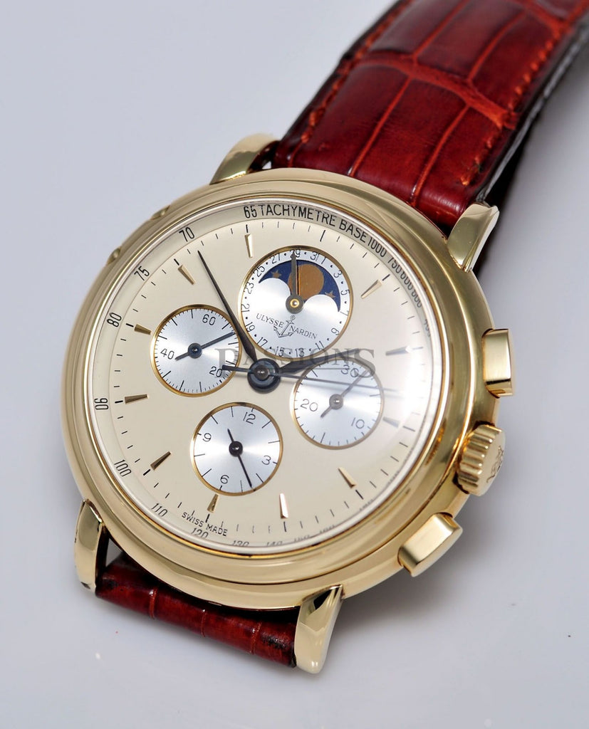 Ulysse Nardin, 39mm Chronograph Moonphase with date