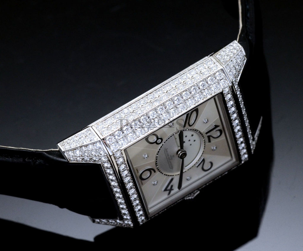 Jaeger LeCoultre Rare Reverso Squadra Lady Duetto automatic Day Night zones