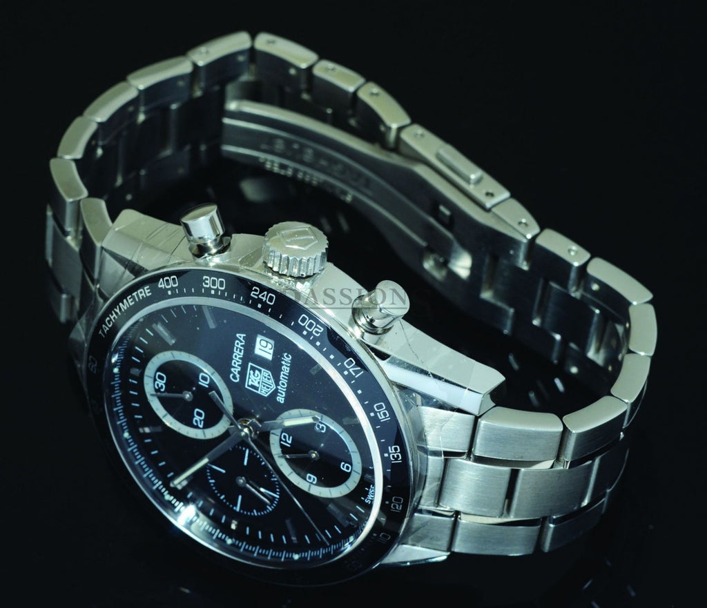 "Tag Heuer, 41mm ""Carrera"" Chronograph automatic date"