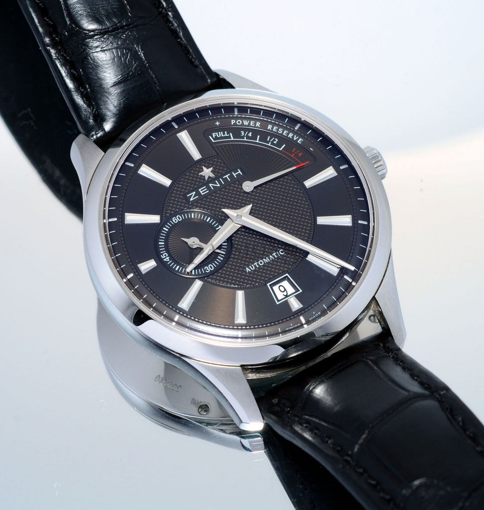 "Zenith, 40mm ""Class Elite Captain Power Reserve"" automatic"