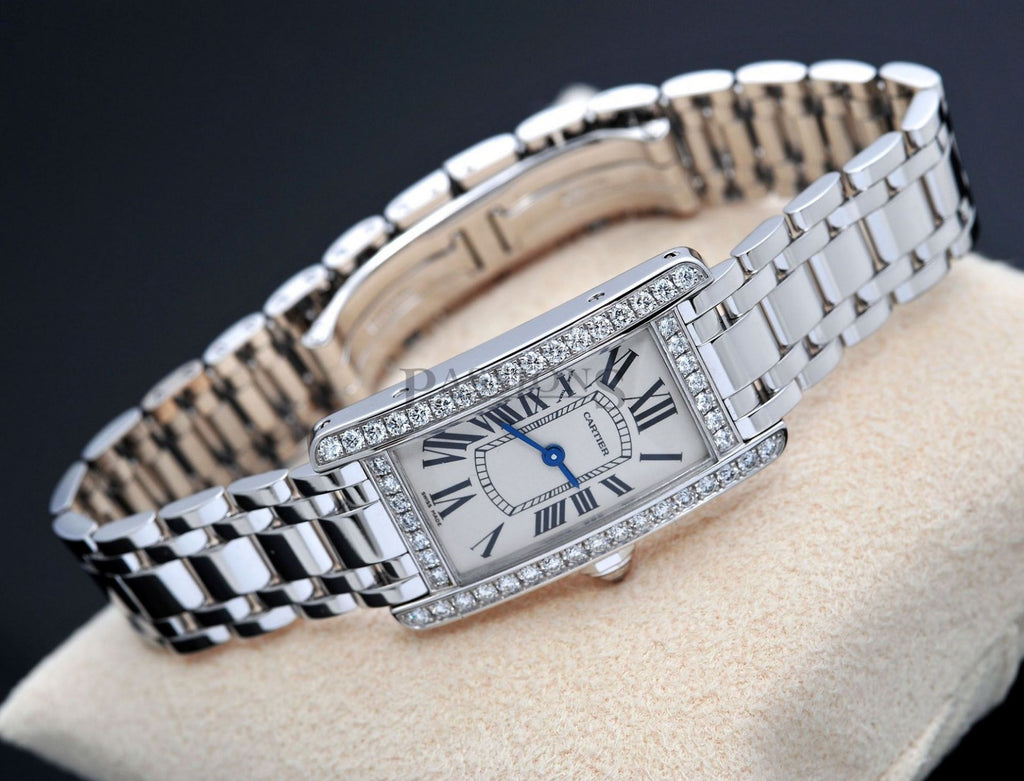 "Cartier, lady's ""Tank Américaine"" quartz"