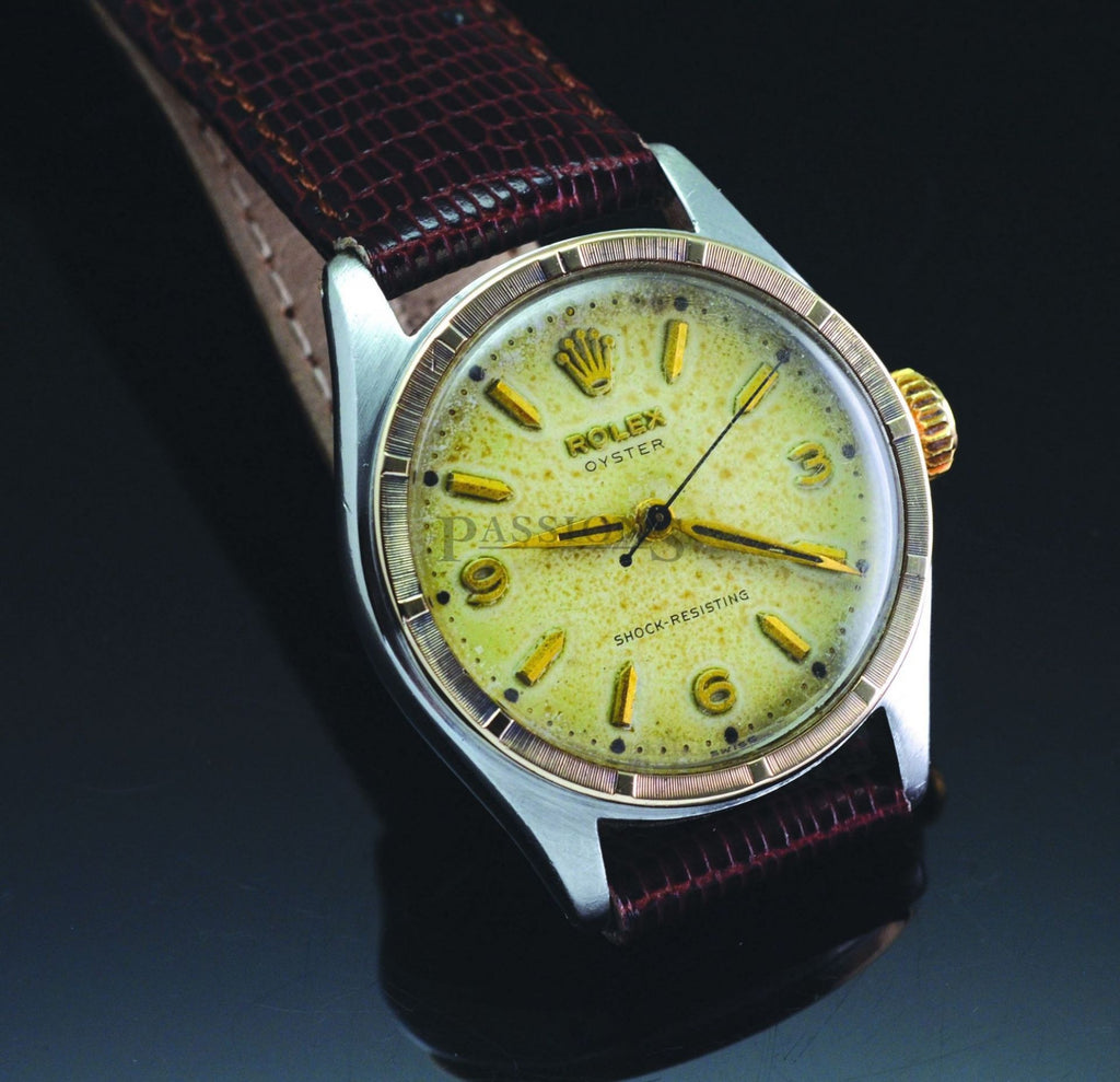 Rolex C.1950s 32mm Oyster Shock resisting manual
