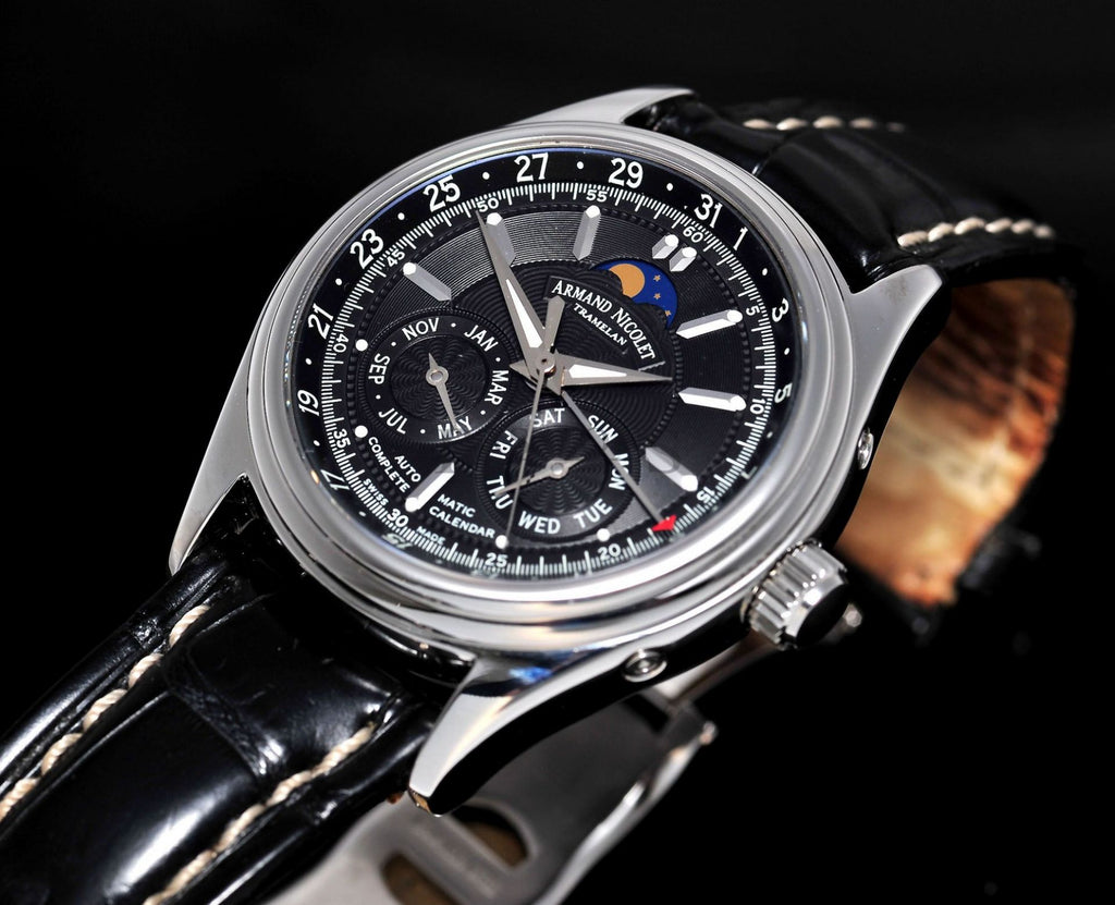 Armand Nicolet 43mm MO2 Complete Calendar Moonphase