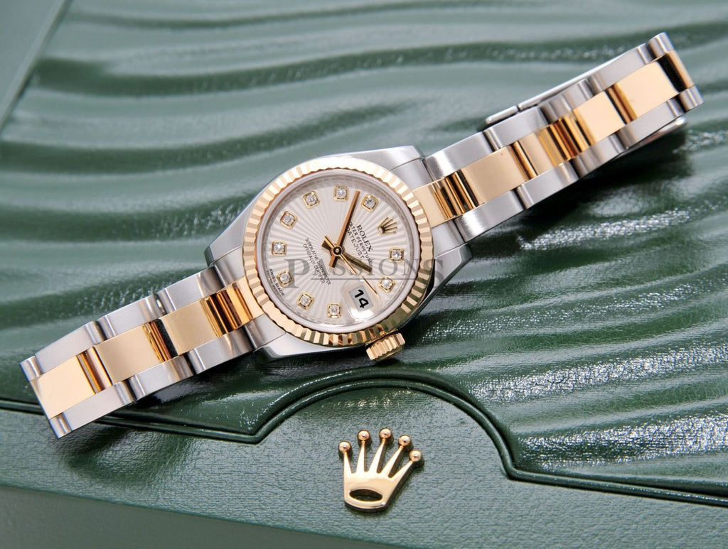 "Rolex Oyster Perpetual 2013 ""Lady Datejust"" Chronometer with Diamonds"