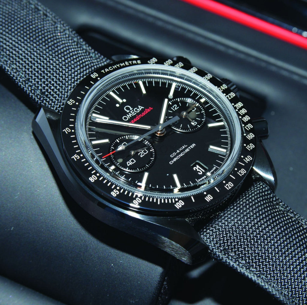 Omega 44mm Speedmaster Moonwatch Dark-side of the Moon