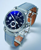 "Ulysse Nardin, 42mm ""Dual Time GMT +/-"" auto/big date"