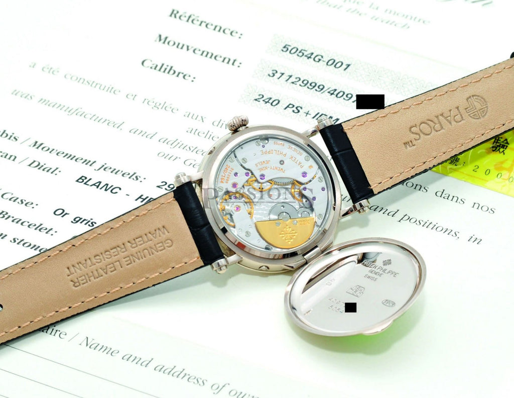 "Patek Philippe, 36mm ""Moonphase, date & power reserve"""