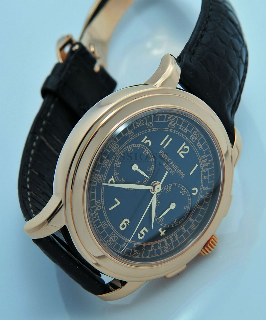 Patek Philippe 42mm Chronograph manual winding in 18KYG