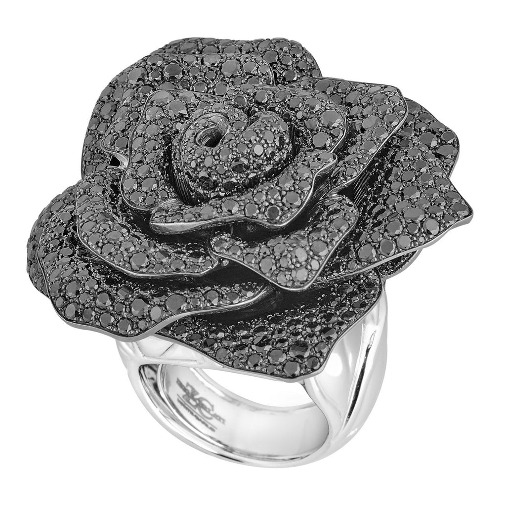 ROSE RING WITH PERFUME CONTAINER