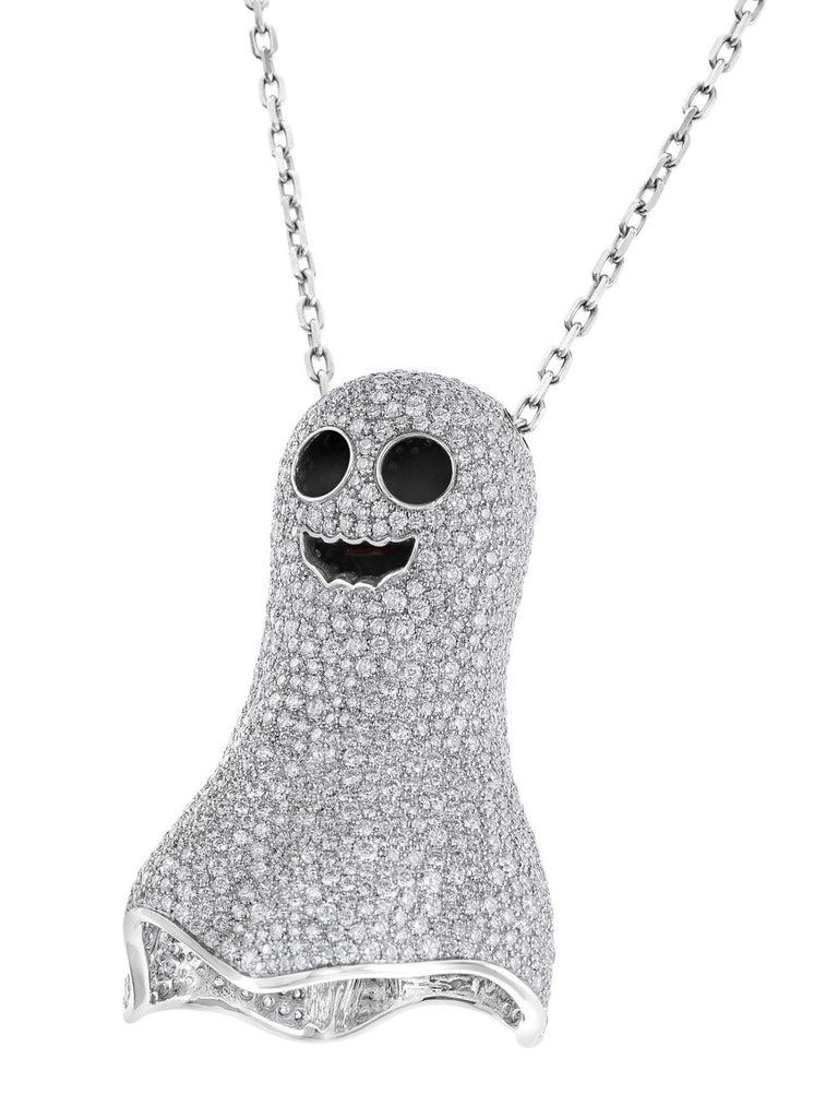 DIAMOND GHOST NECKLACE