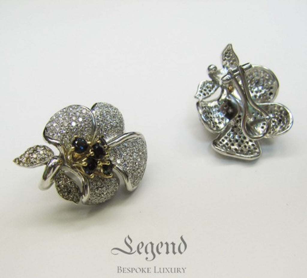 Bespoke Earrings by Legend Helsinki - Your choice of design and materials