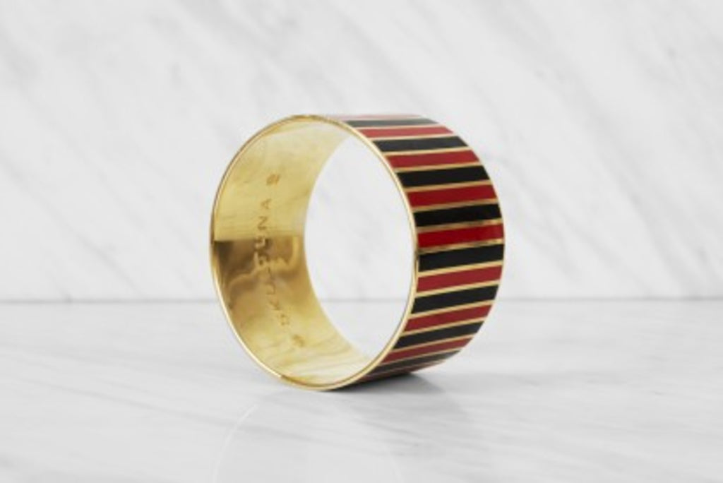 THE STRIPE BANGLE BRACELET